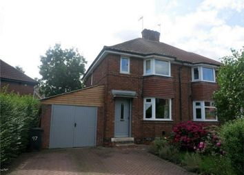 Thumbnail 2 bed semi-detached house for sale in Green Lane, Acomb, York