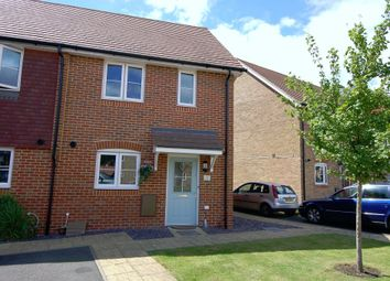 Thumbnail 2 bed semi-detached house for sale in Allbrook Close, Bagshot