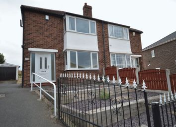 Thumbnail 3 bed semi-detached house to rent in Windermere Road, Castleford