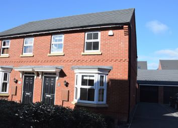 Thumbnail 3 bed property for sale in Cedric Drive, Ashby De La Zouch