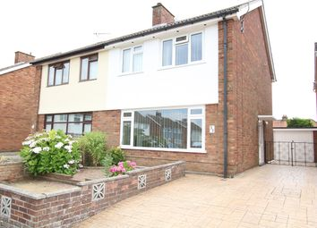 Thumbnail 3 bed semi-detached house for sale in Diamond Close, Ipswich, Suffolk