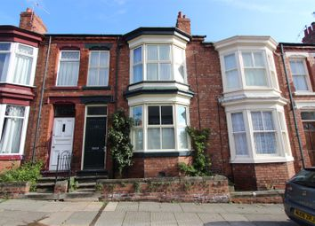 Thumbnail 2 bed terraced house to rent in Clifton Road, Darlington