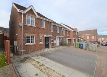Thumbnail 3 bed end terrace house to rent in Haggerstone Mews, Blaydon-On-Tyne