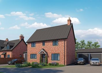 Thumbnail 4 bed detached house for sale in 9 Newnes Gardens, Yorton, Shrewsbury