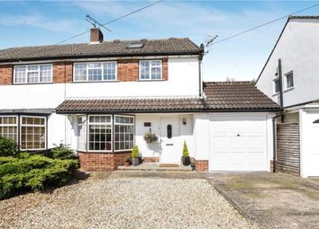 Thumbnail 4 bed semi-detached house for sale in Rochester Avenue, Woodley, Reading
