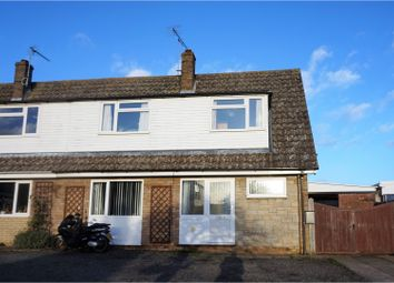 Thumbnail 2 bedroom semi-detached house for sale in Capel Close, Troston