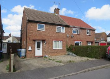 Thumbnail 3 bed semi-detached house for sale in Churchill Road, Halesworth