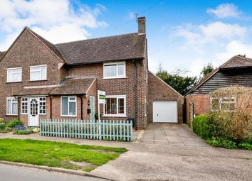 Thumbnail 3 bedroom end terrace house for sale in West Ashling, Chichester, West Sussex