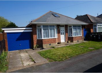 Thumbnail 3 bed detached bungalow for sale in Acres Road, Bournemouth