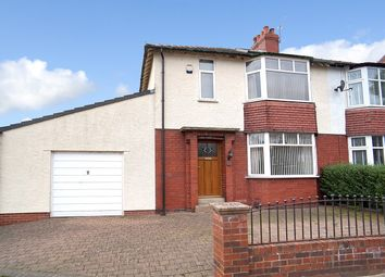Thumbnail 5 bed semi-detached house for sale in Rosebery Road, Carlisle