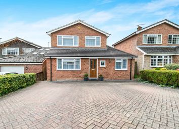 Thumbnail 4 bed detached house for sale in Kingfisher Close, Kempshott, Basingstoke