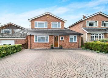 Thumbnail 4 bedroom detached house for sale in Kingfisher Close, Kempshott, Basingstoke