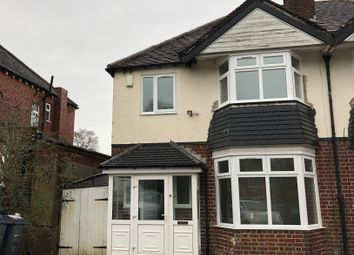 Thumbnail 3 bed semi-detached house to rent in Harborne Park Road, Harborne