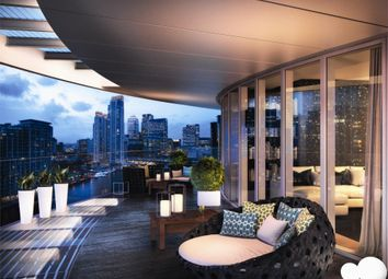Thumbnail Studio for sale in Baltimore Tower, Canary Wharf, London