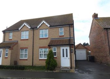Thumbnail 3 bed semi-detached house to rent in Goshawk Way, Tattershall, Lincoln