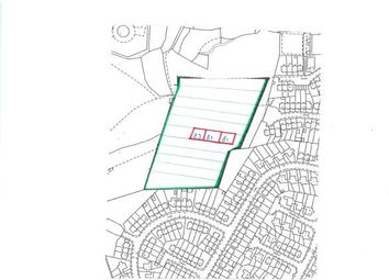 Thumbnail Land for sale in Plot 81 South Of Pen-Y-Dre, Off Rigwgarn Estate, Trebanog, Porth
