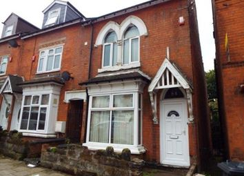 Thumbnail 8 bed end terrace house for sale in Dawlish Road, Selly Oak, Birmingham, West Midlands