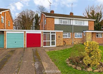 Thumbnail 3 bed semi-detached house for sale in Slimmons Drive, St Albans, Hertfordshire