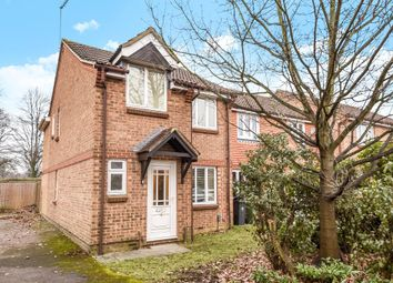 Thumbnail 3 bedroom end terrace house for sale in Hanbury Way, Camberley, Surrey