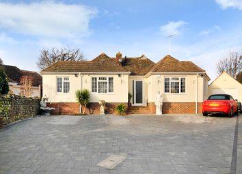 Thumbnail 3 bedroom detached bungalow for sale in Manor Close, East Preston, Littlehampton