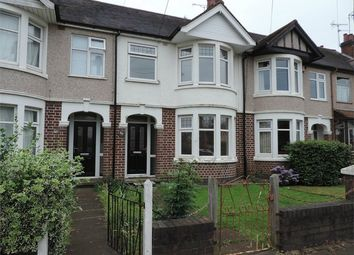 Thumbnail 3 bedroom terraced house to rent in Prince Of Wales Road, Chapelfields, Coventry, West Midlands