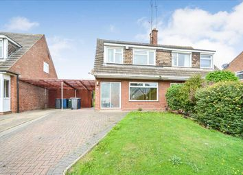 Thumbnail 3 bed semi-detached house for sale in Wolds Drive, Keyworth, Nottingham