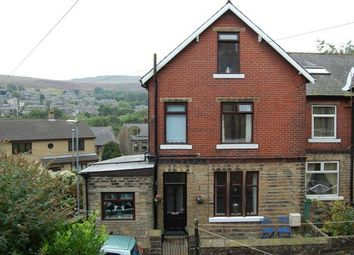 Thumbnail 3 bed end terrace house for sale in Grange Cottages, Marsden, Huddersfield
