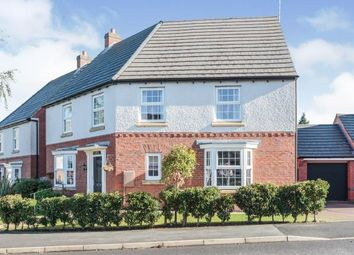 Thumbnail 4 bed detached house for sale in Birch Lane, Glenfield, Leicester, Leicestershire