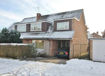 Thumbnail 5 bed semi-detached house for sale in Seaton Road, Wigston, Leicester