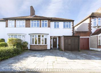 Thumbnail 4 bed semi-detached house for sale in Springfield Gardens, Upminster