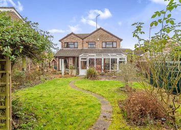 Thumbnail 4 bed detached house for sale in Pierce Crescent, Warmington, Peterborough