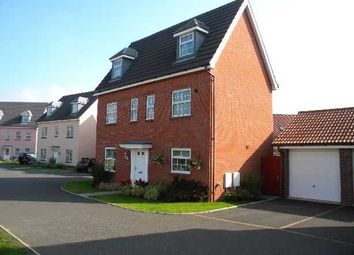 Thumbnail 6 bed detached house to rent in Spindler Close, Kesgrave, Ipswich