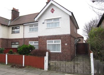 Thumbnail 3 bed semi-detached house to rent in Cedar Grove, Waterloo, Liverpool