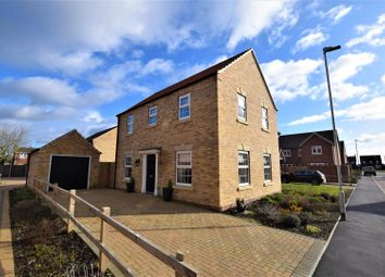 Thumbnail 3 bed detached house for sale in Chadwick Way, Coningsby, Lincoln