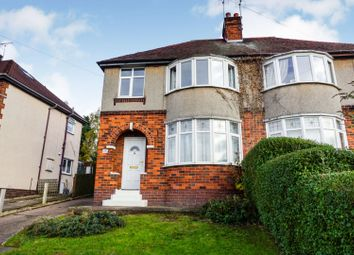 Thumbnail 3 bed semi-detached house for sale in Creswell Grove, Stafford