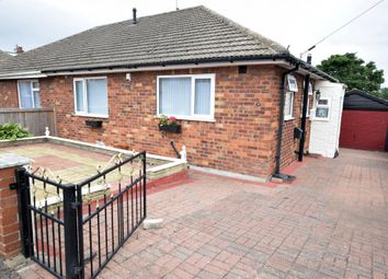 Thumbnail 2 bed semi-detached bungalow for sale in Burtondale Road, Crossgates, Scarborough, North Yorkshire