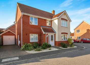 Thumbnail 4 bed detached house for sale in Varrick Way, Attleborough