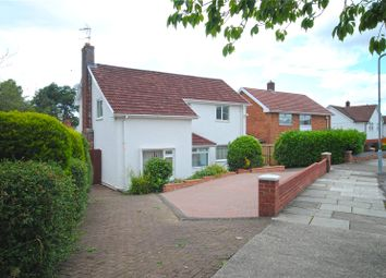 Thumbnail 4 bed detached house for sale in Lakeside Drive, Lakeside, Cardiff
