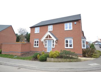 Thumbnail 4 bed detached house for sale in Jenham Drive, Sileby, Leicestershire