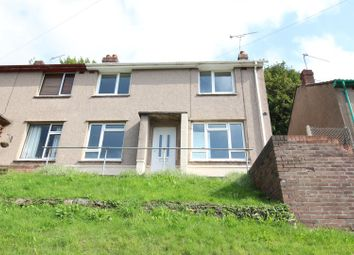 Thumbnail 3 bed semi-detached house to rent in Channel View, Risca, Newport