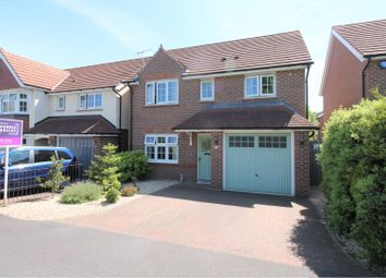 Thumbnail 4 bed detached house for sale in Harewood Close, Worcester