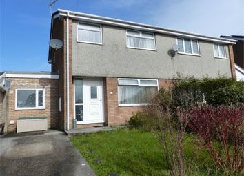 Thumbnail 3 bed semi-detached house for sale in Heol Y Dail, Bridgend, Bridgend, Mid Glamorgan