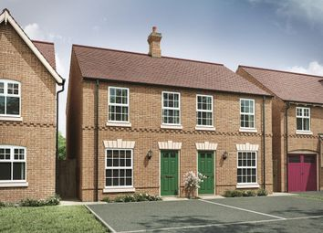 "Thumbnail 2 bed semi-detached house for sale in ""The Thorpe"" at Attley Way, Irthlingborough, Wellingborough"