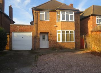 Thumbnail 3 bedroom detached house to rent in Bedford Road, Sutton Coldfield