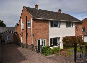 Thumbnail 3 bed semi-detached house for sale in Knapp Close, Ledbury, Herefordshire