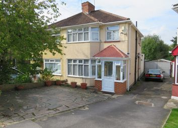 Thumbnail 3 bed property to rent in Twyford Road, Harrow