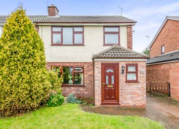 Thumbnail 3 bed semi-detached house for sale in The Ruddings, Selby