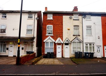 Thumbnail 4 bedroom terraced house to rent in Oxhill Rd, Handsworth, Birmingham