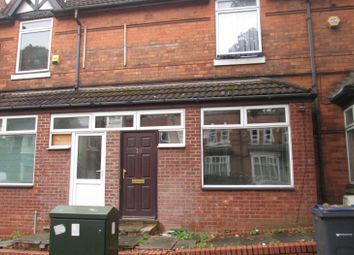 Thumbnail 3 bed flat to rent in Cannon Hill Road, Balsall Heath