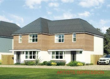 Thumbnail 3 bed semi-detached house for sale in Apple Tree Gardens, Walkford, Christchurch, Dorset